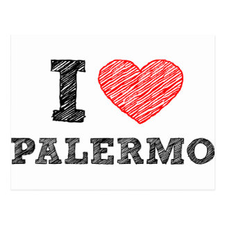 I love Palermo Post Cards
