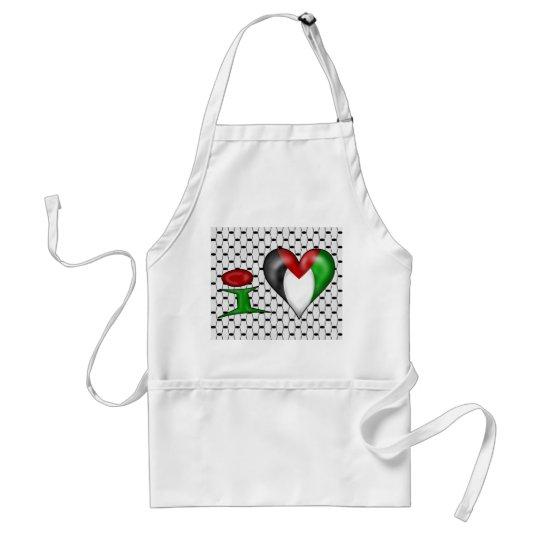I love Palestine Adult Apron