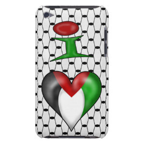 I love Palestine Barely There iPod Cover