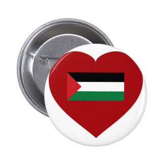 I Love Palestine Pinback Buttons