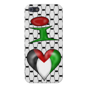 I love Palestine Case For iPhone SE/5/5s