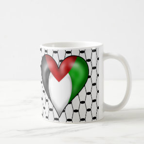 I love Palestine Coffee Mug