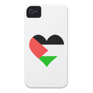 I Love Palestine Heart iPhone 4 Cases