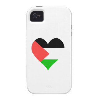 I Love Palestine Heart Case For The iPhone 4