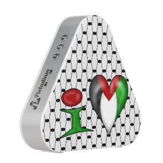 I love Palestine I Heart Palestine Bluetooth Speaker