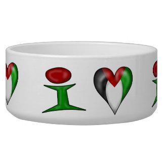 I love Palestine I Heart Palestine Bowl