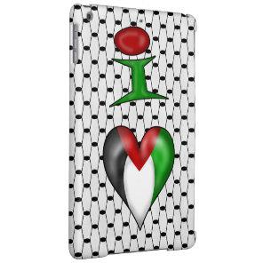 I love Palestine I Heart Palestine iPad Air Case