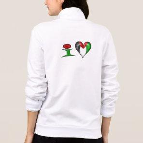 I love Palestine I Heart Palestine Jacket