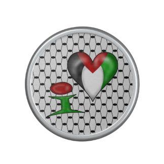 I love Palestine I Heart Palestine Speaker