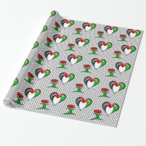 I love Palestine I Heart Palestine Wrapping Paper