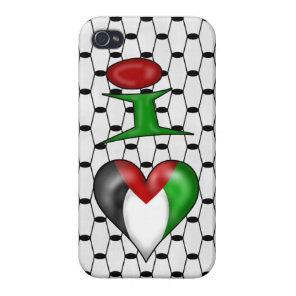 I love Palestine iPhone 4/4S Case