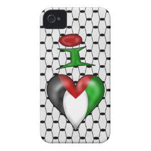 I love Palestine iPhone 4 Case-Mate Case