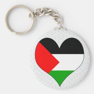 I Love Palestine Key Chain