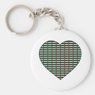 I Love Palestine Keychain