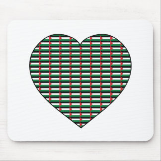 I Love Palestine Mouse Pad