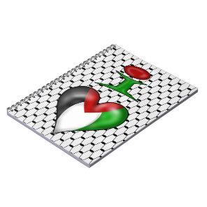 I love Palestine Notebook