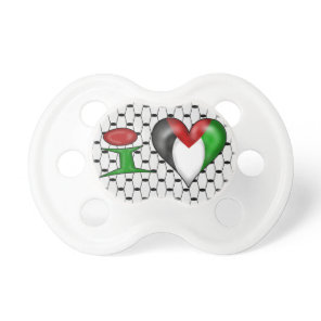 I love Palestine Pacifier