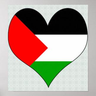 I Love Palestine Poster