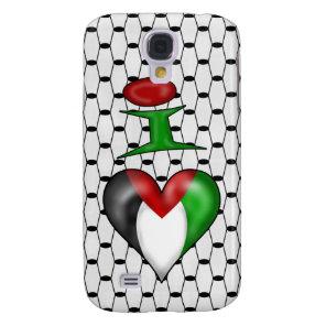 I love Palestine Samsung S4 Case