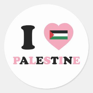 I Love Palestine Stickers