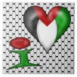 I love Palestine Tiles