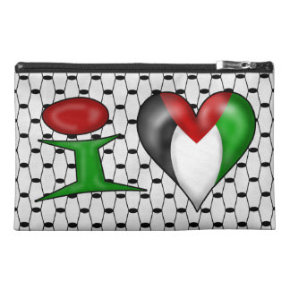 I love Palestine Travel Accessory Bag