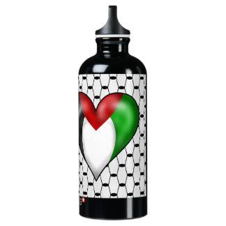 I love Palestine Water Bottle