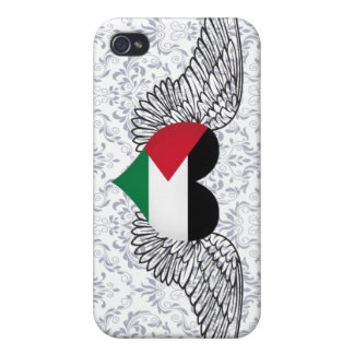 I Love Palestine -wings iPhone 4/4S Cases