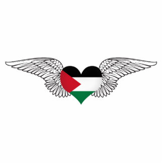I Love Palestine -wings Photo Sculptures