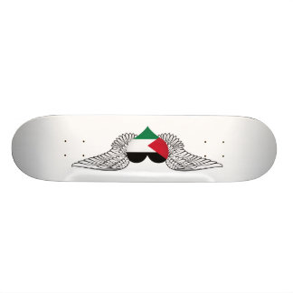 I Love Palestine -wings Skateboard Deck