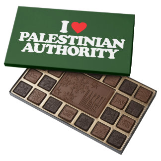 I LOVE PALESTINIAN AUTHORITY ASSORTED CHOCOLATES
