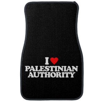 I LOVE PALESTINIAN AUTHORITY CAR FLOOR MAT