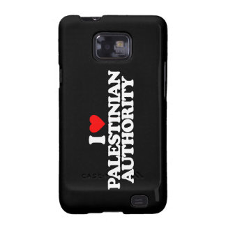 I LOVE PALESTINIAN AUTHORITY SAMSUNG GALAXY SII COVERS