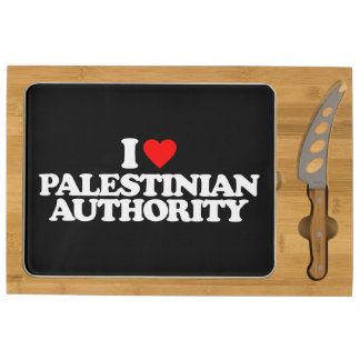 I LOVE PALESTINIAN AUTHORITY CHEESE BOARD