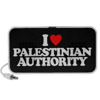 I LOVE PALESTINIAN AUTHORITY iPod SPEAKER