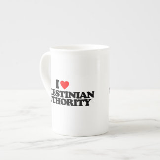 I LOVE PALESTINIAN AUTHORITY TEA CUP