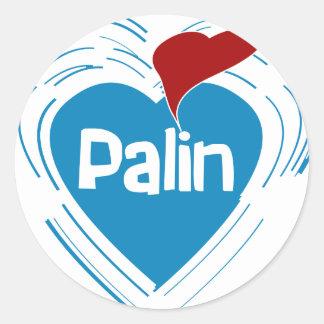 I Love Palin Stickers