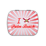 I Love Palm Beach, Florida Jelly Belly Tin