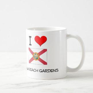 I Love PALM BEACH GARDENS Florida Mug