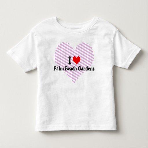I Love Palm Beach Gardens, United States Shirts