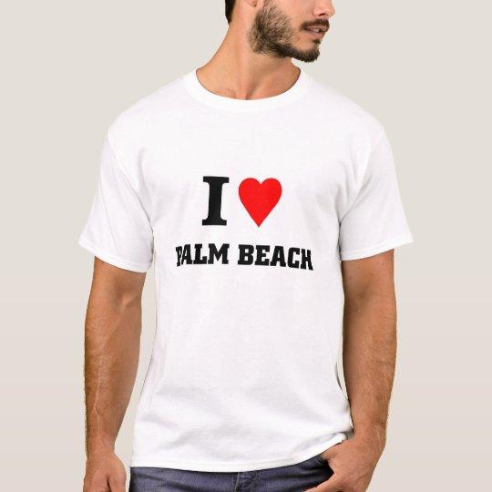 I love Palm Beach T-Shirt