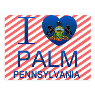 I Love Palm, PA Postcard