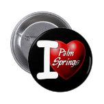 I Love Palm Springs Pin