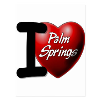 I Love Palm Springs Postcard