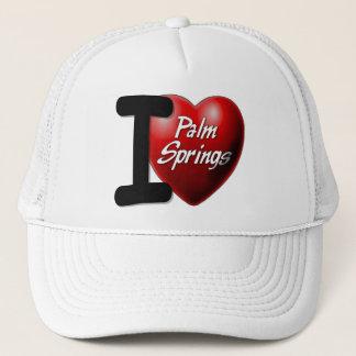I Love Palm Springs Trucker Hat