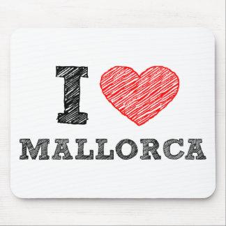 I Love Palma de Mallorca Mouse Pad