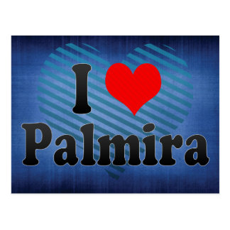 I Love Palmira, Colombia Postcard