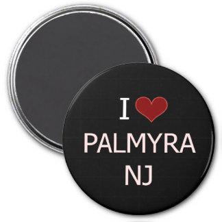 I Love Palmyra, NJ 3 Inch Round Magnet