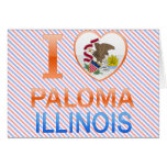 I Love Paloma, IL Greeting Card