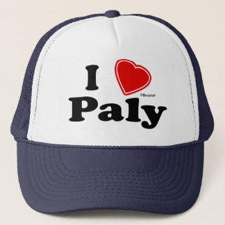 I Love Paly Trucker Hat